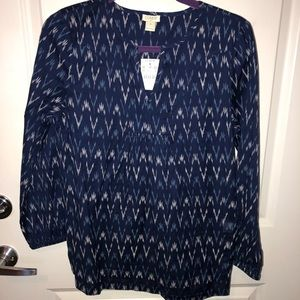 New With Tags - JCREW Blue Blouse